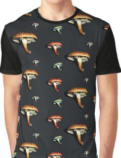 Mushrooms? Mushrooms. Graphic T-Shirt