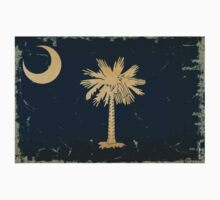 South Carolina State Flag VINTAGE by Carolina Swagger