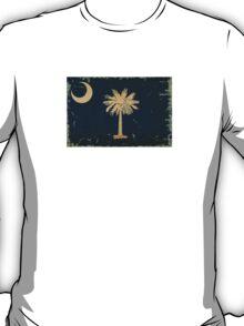 South Carolina State Flag VINTAGE T-Shirt