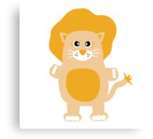 Cute Lion Canvas Print