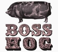 Boss Hog by Joepokes