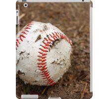 old baseball iPad Case/Skin