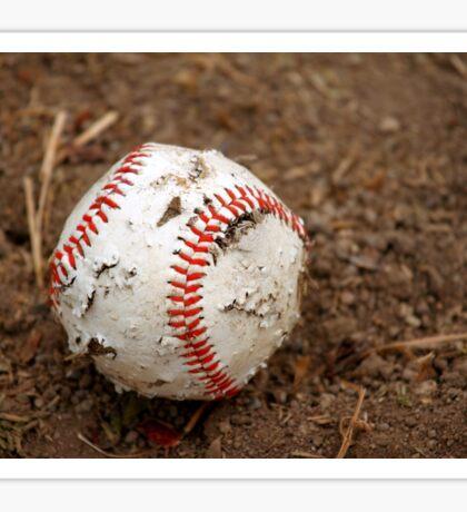old baseball Sticker