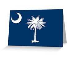 South Carolina State Flag Greeting Card