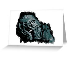 The Undead. Greeting Card