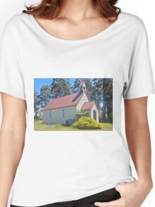 Union Church, Goulds Country, Tasmania Women's Relaxed Fit T-Shirt