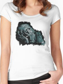 The Undead. Women's Fitted Scoop T-Shirt