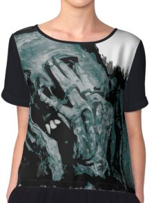 The Undead. Chiffon Top
