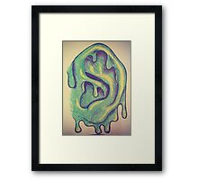 Slime Ball Framed Print