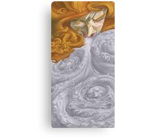 The Woman Who Sneezed Ghosts Canvas Print