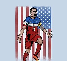 Dempsey USA flag by Ben Farr