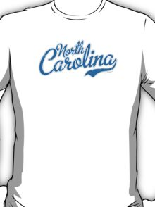 North Carolina Script VINTAGE T-Shirt