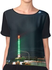 Motel in the moonlight Chiffon Top