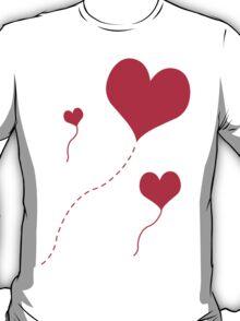 Heart Balloons T-Shirt
