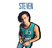 Steven Kelly - NBA jersey Photographic Print