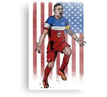 Dempsey USA flag Metal Print