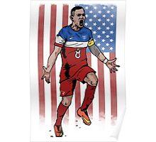Dempsey USA flag Poster