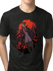 Kaiki Monogatari Tri-blend T-Shirt