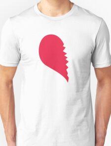 Broken Heart  Left T-Shirt