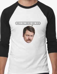 Taxes Ron Men's Baseball ¾ T-Shirt