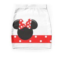 Minnie Mouse Red Polka Dots Mini Skirt