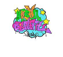 Urban Graffiti Photographic Print