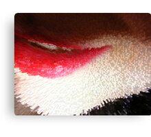 Lips Cube Canvas Print