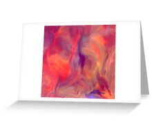Mother and Child Abstract Greeting Card