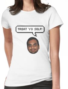 Treat yo Self Tom Womens Fitted T-Shirt
