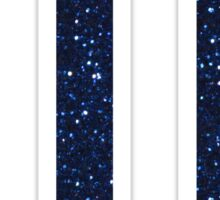 ftk navy glitter Sticker