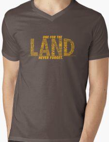 Never Forget - The Land Mens V-Neck T-Shirt