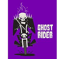 Ghost Rider Vector Art Photographic Print