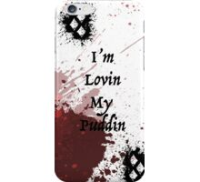 Harley Quinn Blood Splatter iPhone Case/Skin