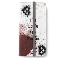 Harley Quinn Blood Splatter iPhone Wallet/Case/Skin