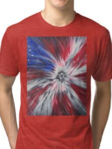 Starburst Flag Tri-blend T-Shirt