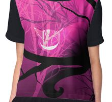 Cheshire Cat (Pink) Chiffon Top