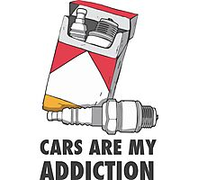 Cars are my addiction Photographic Print
