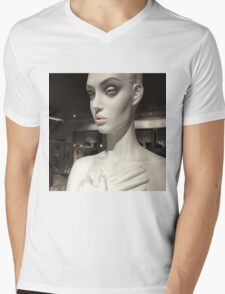 Statues of the gods / In the Hall of Aphrodite Mens V-Neck T-Shirt