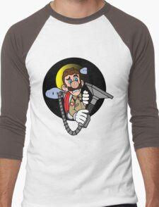 Luigi a Ghost buster Men's Baseball ¾ T-Shirt