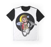 Luigi a Ghost buster -fan art- Graphic T-Shirt