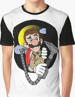 Luigi a Ghost buster -fan art- Graphic T-Shirt