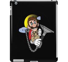 Luigi a Ghost buster iPad Case/Skin
