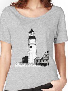 Lighthouse Women's Relaxed Fit T-Shirt