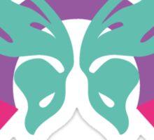 Butterfly ribbon Sticker