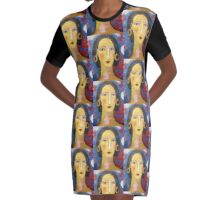 """Isabella ""   Graphic T-Shirt Dress"