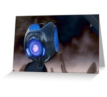 Halo - Lost Oracle Greeting Card