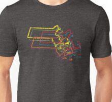 massachusetts pride blur Unisex T-Shirt