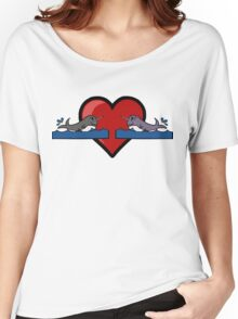 Narwhal Couple Women's Relaxed Fit T-Shirt