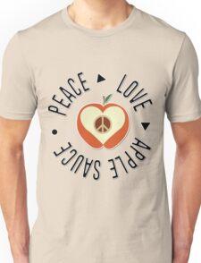 Peace Love & Apple Sauce Unisex T-Shirt