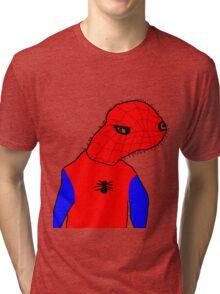 SpooderMan - Meme  Tri-blend T-Shirt